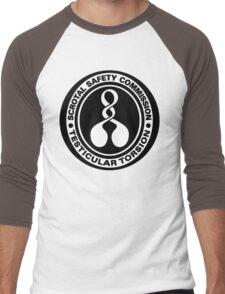 Scrotal Safety Commissioner Men's Baseball ¾ T-Shirt