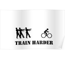 Zombie Bike Training Poster