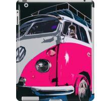 VW camper Pinky  iPad Case/Skin