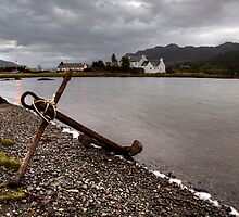 Rusty Anchor - Plockton by David Lewins