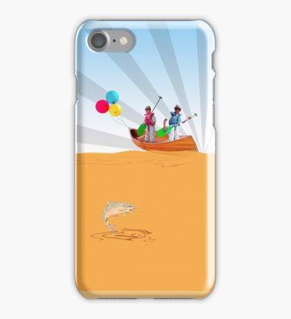Phone case: Canoe with Pooh iPhone Case/Skin