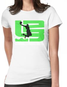 lebron dunkman 9 Womens Fitted T-Shirt