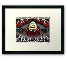 Seven Layer Dream Cake Framed Print