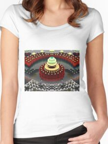 Seven Layer Dream Cake Women's Fitted Scoop T-Shirt