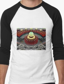Seven Layer Dream Cake Men's Baseball ¾ T-Shirt