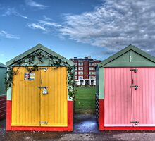 Beach Huts in Hove by Ms-Bexy