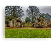 Jervaulx Abbey Ruins Canvas Print