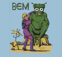 Bug Eyed Monster and Friend One Piece - Short Sleeve