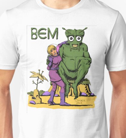 Bug Eyed Monster and Friend Unisex T-Shirt