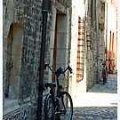 Bicycle In Laneway by Claire McCall