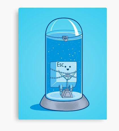 The Escape Artist Canvas Print
