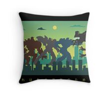 Pacific Rim: For My Family Throw Pillow
