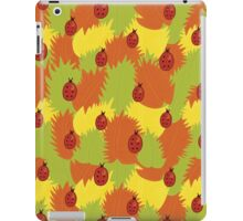 Autumn Leaves And Ladybugs iPad Case/Skin