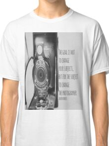 Goal Photographer Classic T-Shirt