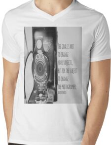 Goal Photographer Mens V-Neck T-Shirt