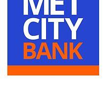 MET CITY BANK | Peep Show by mrkyleyeomans