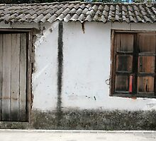 White Window and Door by rhamm