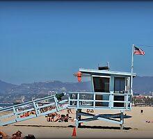 Venice Beach Lifeguard Station by Chris Roberts