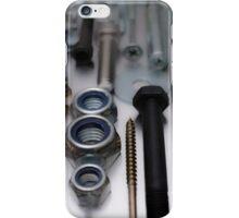Construction worker hardware phone2 iPhone Case/Skin