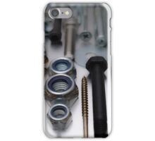 Construction worker hardware phone2 iPhone Case/Skin