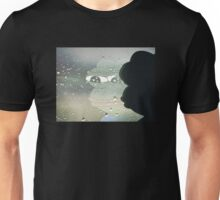 Pepe The Sad Frog Rainy Reflection Unisex T-Shirt