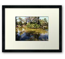 Natonal Reserve  Framed Print