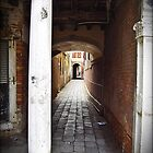 Venice Alleyway, Italy by Chris Roberts