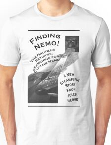 Finding Nemo, Jules Vernes New Steampunk Book Unisex T-Shirt