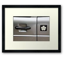Mia Electric abstract Framed Print
