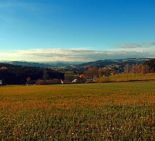 Panorama at indian summer | landscape photography by Patrick Jobst
