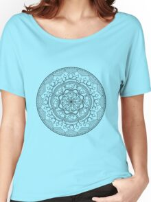 Leafy Mandala Women's Relaxed Fit T-Shirt