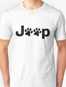 Jeep Paws T-Shirt
