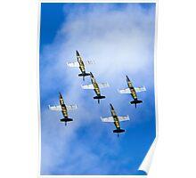 Breitling air display team L-39 Albatross Poster