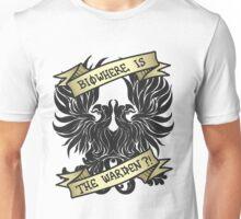 Biowhere is the Warden?! Unisex T-Shirt