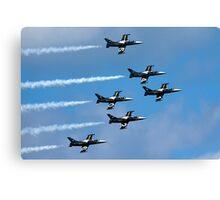 Breitling air display team L-39 Albatross Canvas Print