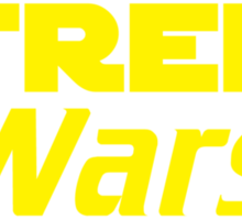 Trek Wars Sticker