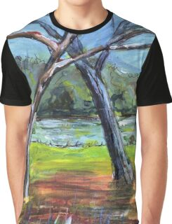 Sketching Trees Graphic T-Shirt