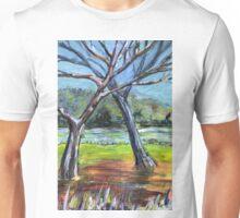Sketching Trees Unisex T-Shirt