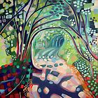 Colourful Country Lane by Emily  Garces
