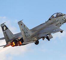 Israeli Air force (IAF) Fighter jet F-15 (BAZ) in flight by PhotoStock-Isra