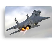 Israeli Air force (IAF) Fighter jet F-15 (BAZ) in flight Canvas Print