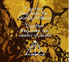 Deathly Hallows, Master of Death by ClickChloe