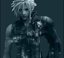 Cloud Final Fantasy VII by hinomaru17