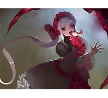 Shalltear Victorian Dress Photographic Print