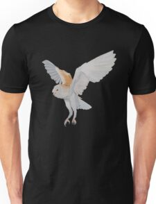 Barn Owl, T Shirts & Hoodies. ipad & iphone cases Unisex T-Shirt