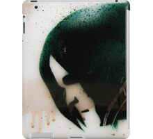 Graffiti art on window 4 iPad Case/Skin