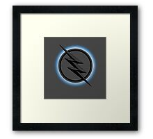 The Flash tv Zoom DC cw serie tv  Framed Print