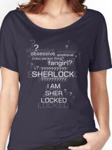 Drunk Sherlock Fangirl Women's Relaxed Fit T-Shirt
