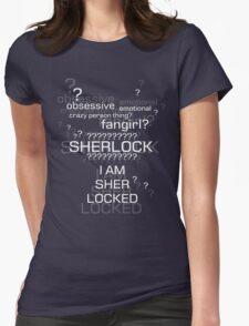 Drunk Sherlock Fangirl Womens Fitted T-Shirt