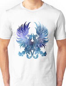 Gray Warden glaxy crest Unisex T-Shirt